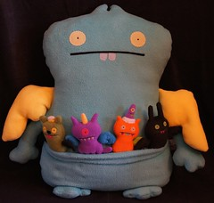 Uglydoll Prototype Sample - Dream Babo Jumbo (jcwage) Tags: giantrobot ceramic prototype uglydoll rare uglydolls icebat babo sdcc wage horvath wedgehead davidhorvath sunmin trunko uglycon powerbabo dreambabo