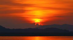 三門仔 | Sam Mun Tsai (TommyYeung) Tags: red sea cloud sun color sunrise hongkong