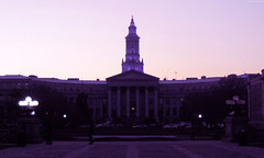 "Denver City - County Bldg silhouette • <a style=""font-size:0.8em;"" href=""http://www.flickr.com/photos/34843984@N07/15523027736/"" target=""_blank"">View on Flickr</a>"