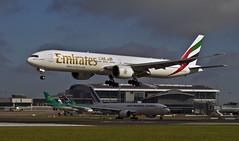 (planecrazypeter) Tags: dublin france air cargo emirates dub b777 triple7 fguoc a6egz