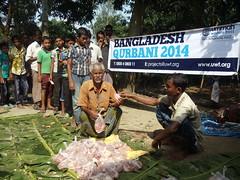 Qurbani 2014 in Bangladesh (Ummah Welfare Trust) Tags: poverty charity asia muslim islam homeless eid happiness relief aid hunger activism humanitarian dinajpur humanitarianism
