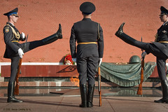 Changing of the Honor Guard Ceremony (Hernan Linetzky Mc-Manus) Tags: garden tomb guard ceremony honor soldiers alexander kremlin urss moscu