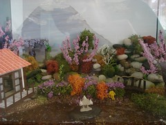Japanese Garden (Alennka) Tags: house scale garden doll 14 scene oriental 48 dollshouse 48th