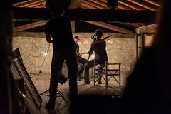 La Bocca - Video shooting backstage (generatorrr) Tags: wood light italy music film video italia stones duo band clip pietre record attic lamps backstage behindthescenes making brescia bocca recording legno labocca filmaking soffitta alberodonte