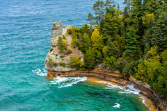 UP North - Miners Castle, Pictured Rocks National Lakeshore (C E Andersen) Tags: up upnorth upperpeninsula picturedrocks picturedrocksnationallakeshore minerscastle