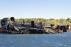 r_141019490_circum_a (Mitch Waxman) Tags: newyorkcity abandoned tugboat newyorkharbor arthurkill workingharborcommittee statenislandcircumnavigation