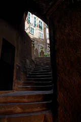 The way home (duncanmc42) Tags: home stairs coast town europe arch village steps arches doorway lane access cinqueterre riomaggiore italyitalia duncancunningham ilobsterit duncanmc42