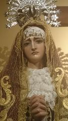 Nuestra Seora de la Soledad (Cofradeus) Tags: espaa soledad dolores turismo dolor semanasanta dolorosa boadilladelmonte