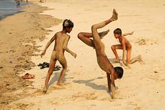 Free for all (Rajib Singha) Tags: street city travel india beach children interestingness play searchthebest explore mumbai flickriver mharastra