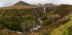 Eas Mor (amcgdesigns) Tags: autumn skye waterfall cuillin andrewmcgavin cuillinlodgeoct2014