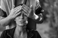make up session (Nadialeesi) Tags: autumn sunset portrait people blackandwhite bw woman france fall beauty canon eos blackwhite model hands october europe dof bokeh makeup naturallight lindsay montpellier 7d naturalbeauty goldenhour 50mmf14 2014 autumnlight eos7d canoneos7d makeupphotos