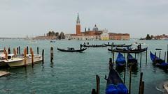 Venice, Nov 2014 (Piotr_PopUp) Tags: venice italy italia venezia hightide sangiorgiomaggiore dockbay altamarea lpstill