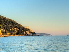 Towards Cavtat (MikeAncient) Tags: sea water geotagged croatia dubrovnik meri hdr vesi mediterraneansea ragusa adriaticsea kroatia hrvatska tonemapped tonemap 4exp adrianmeri vlimeri