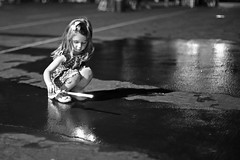 Reflections (yxlou) Tags: street carnival white black reflection children child