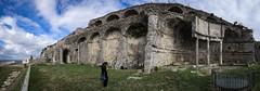 Terrazze del Santuario della Fortuna Primigenia (stefano.nardi) Tags: sky landscapes italia panoramica palestrina sigma1020 museoarcheologicopalestrina