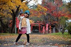 daughter sakurako 娘 伏見稲荷神社 6歳 さくらこ 櫻子 サクラコ 札幌伏見稲荷神社