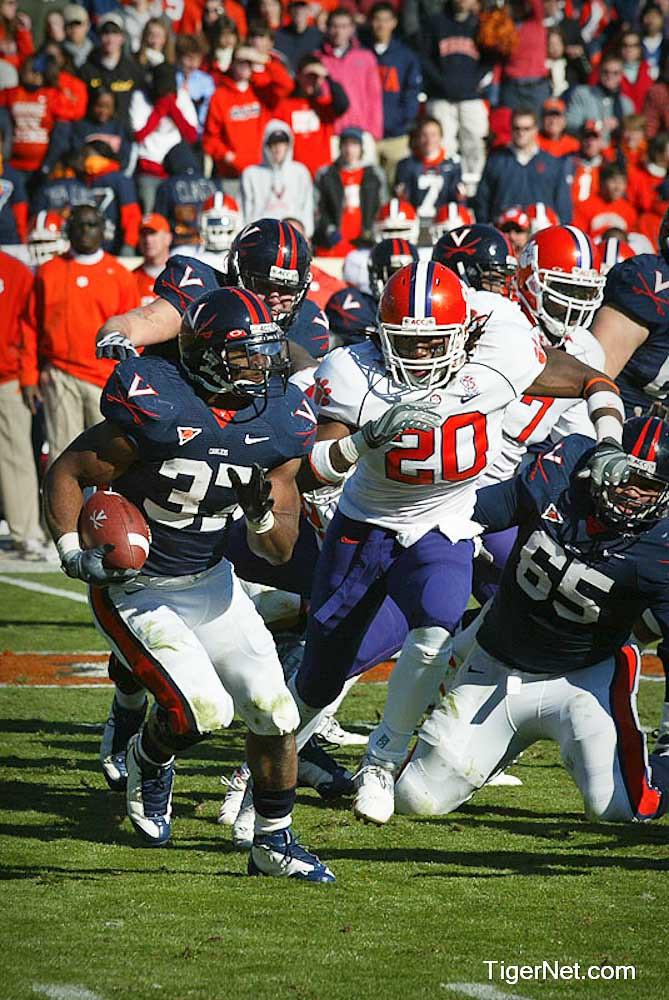 Clemson Photos: 2008, Brandon  Maye, Football, Virginia