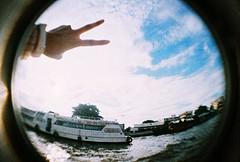 Bangkok street snap (lumieb) Tags: trip travel film 35mm thailand holga lomo lomography exposure doubleexposure bangkok films fisheye multipleexposure 35mmfilm 135 bkk streetstyle filmphoto 135film holgafisheye holgak200 lomofilm film135 bangkokstreet filmpic bangkokstyle bangkokurban lomographyxpro200 xpro200 lomoanalogue exposurefilm 135photo