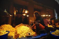 Flower Market - Chennai, India (Chot Touch) Tags: travel india market drink lane chennai seller alane street flowertea badrianstreet madrasmarket budirian