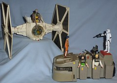 "Rebels - Episode ""Fighter Flight"" (Darth Ray) Tags: from modern star fighter transport flight scene imperial kenner wars episode troop hasbro rebels"