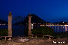 Lugano by night (pawae) Tags: schweiz switzerland tessin ticino suisse lac nuit lugano