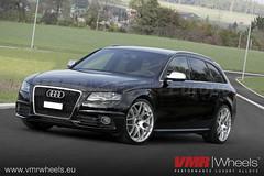 VMR Wheels V710 Hyper Silver - Audi S4 (VMR Wheels Europe) Tags: silver wheels hyper 20 audi s4 vmr zoll alufelgen felgen