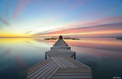 Amanecer en el Mar Menor (3) (Legi.) Tags: longexposure seascape landscape nikon playa paisaje tokina amanecer marmenor largaexposicin d600 1116 santiagodelaribera