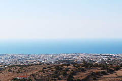 Paphos view from Armou