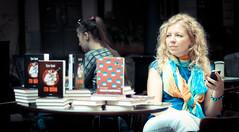 2014. Lviv. Ukraine. bookforum (bobobahmat) Tags: ukraine ukrainian lviv life lvov people portrait face smile color girl woman eyes groupshot bookforum forum gorovyj book presentation