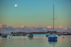 super moonset (adicunningham) Tags: bermuda moon moonset pontoons spanishpoint supermoon