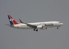 Yemenia B737-8Q8w 7O-ADQ (Retro Jets) Tags: yemenia b738 dxb