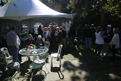 Pregame at Cowles House, October 2016