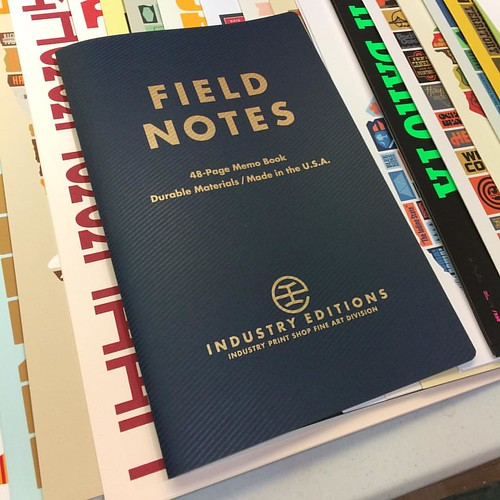 Get Yer Giant-Ass Field Notes! (Only 30 Exist)