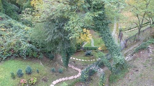 Burggraben der Schönburg bei Oberwesel