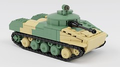 BMD-1 Rebuild (ABS doohickies) Tags: lego ldd render bmd1 tank transnistria military vehicle dc6