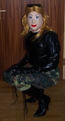 e (gasmask73a1) Tags: boots fetish mask latex