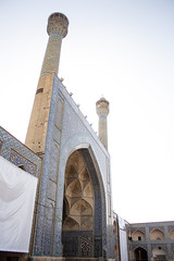 Jmae Mosque of Isfahan (Ali Shojaee) Tags: isfahan iran iranian art architecture arch dome tile stucco brick mehrab