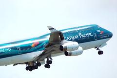 B-HOY (Yiu KM) Tags: cathaypacific boeing 747400 747467 cx