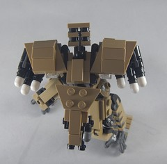 Trident top (donuts_ftw) Tags: lego mecha mech moc robot military missile metalgear