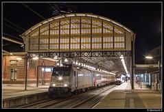 NMBS 2863 - 9268 (Spoorpunt.nl) Tags: 25 november 2016 nmbs traxx i6 i10 rijtuigen benelux trein 9268 station den haag hollands spoor 2863