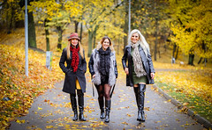 The Girls. (PhotographerJockeFransson) Tags: leather latex boots autumn sweden canon 6d eos 85mm