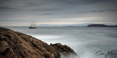 Off Fanad Head (C.M_Photography) Tags: tallship boat ship donegal fanadhead sea rocks 10stop filter