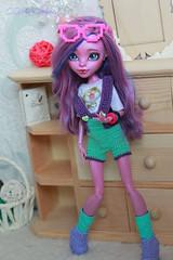 IMG_1851 (Cleo6666) Tags: monsterhigh monster high kjersti trollson mattel ooak repaint doll custom