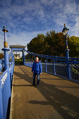 St Andrews Suspension Bridge Autumn on the Clyde (13) (dddoc1965) Tags: glasgow gorbals october 21st 2016 friday david cameron paisley photogeapher st andrews suspension bridge kennyreid