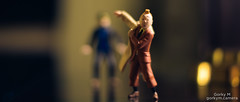 Minimum focussing distance (gmaxstudios) Tags: 50mm anamorphic tintin haddock comics miniatures figurines