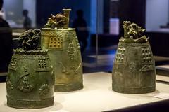 Bronze Bell from Jingwansa Temple (Yunhyok Choi) Tags: smcpentaxfamacro50mmf28 korea pentax pentaxk3 artifact bell buddah buddhism museum   kr