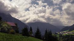 Kleinwalsertal (Netsrak) Tags: kleinwalsertal mountain mountains berg berge gebirge alps alpen tree trees baum bäume mittelberg house haus wolken wolke cloud clouds outdoor