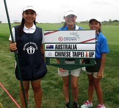 Australia versus Chinese Taipei (*hajee) Tags: lpga meritclub gurnee libertyville murphyscholars ul internationalcrown