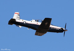 USAF T-6 Texan II 08-3915 (birrlad) Tags: rainbow canyon valley california usa airport airplane airplanes aviation aircraft flying flypast flyby flyover low level turboprops prop training beechcraft t6 texan ii 083915 raytheyon
