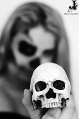 (xulliear) Tags: beauty halloween makeup skull meltingskull orangehair redhead ginger horror ghost woman fineart conceptual photography